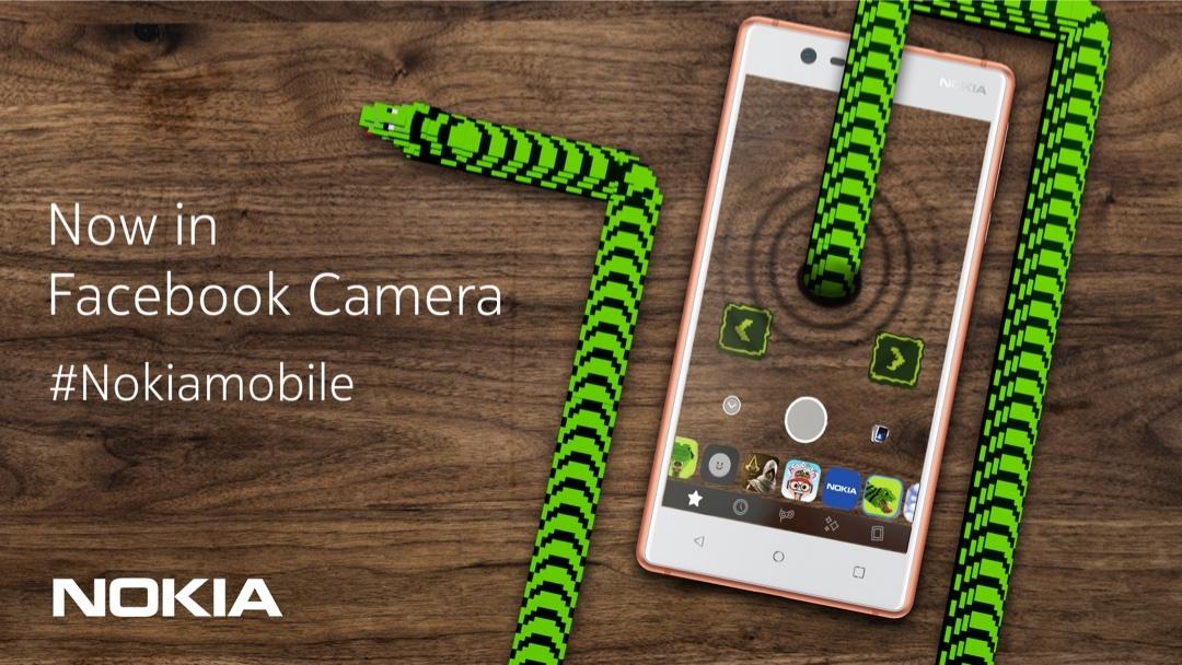 Nokia Yılan efsanesi Facebook AR kamera platformunda yaşıyor