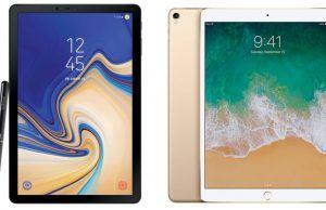 Samsung Galaxy Tab S4 ve Apple iPad Pro 10.5 karşı karşıya