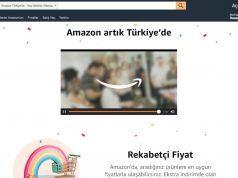 Amazon Türkiye alışveriş sitesi Amazon.com.tr adresinde açıldı