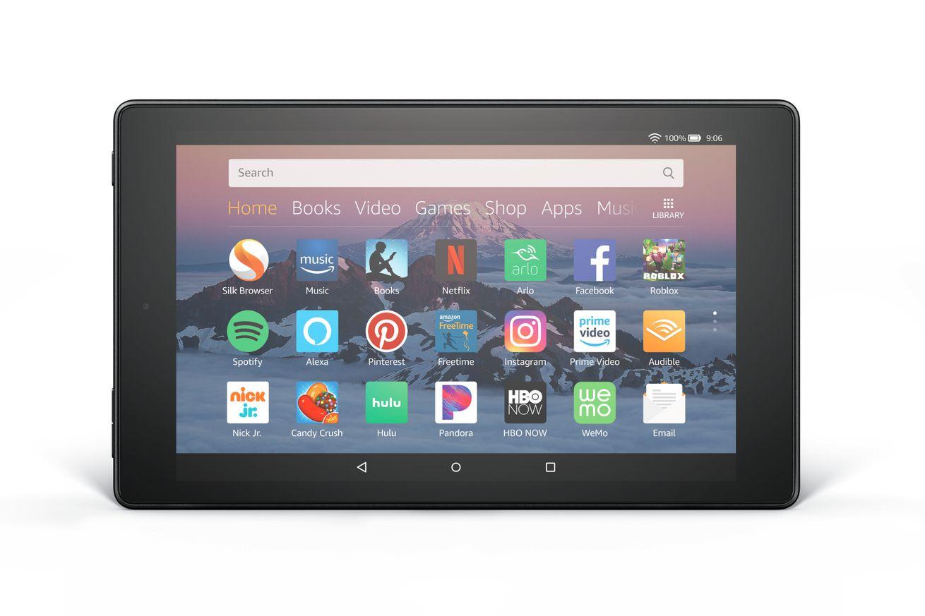 Amazon Fire HD 8 tabletini 2 megapiksel ön kamerayla yeniledi