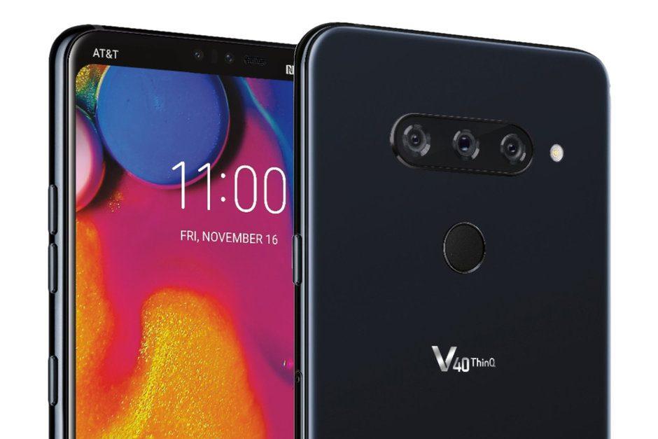 LG V40 ThinQ sızıntısı gizlenebilen çentik ve üç arka kamerayı doğruluyor