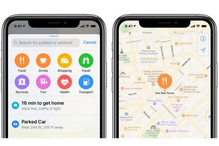 Apple Harita uygulaması için yaya olarak dolaşan ekiplerle veri topluyor