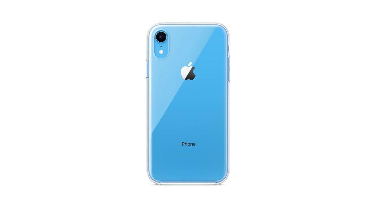 Apple iPhone XR için şeffaf kılıf satacak