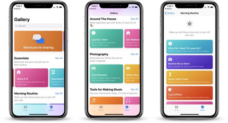 Apple Kestirmeler uygulamasını yeni kestirme seçenekleriyle güncelledi