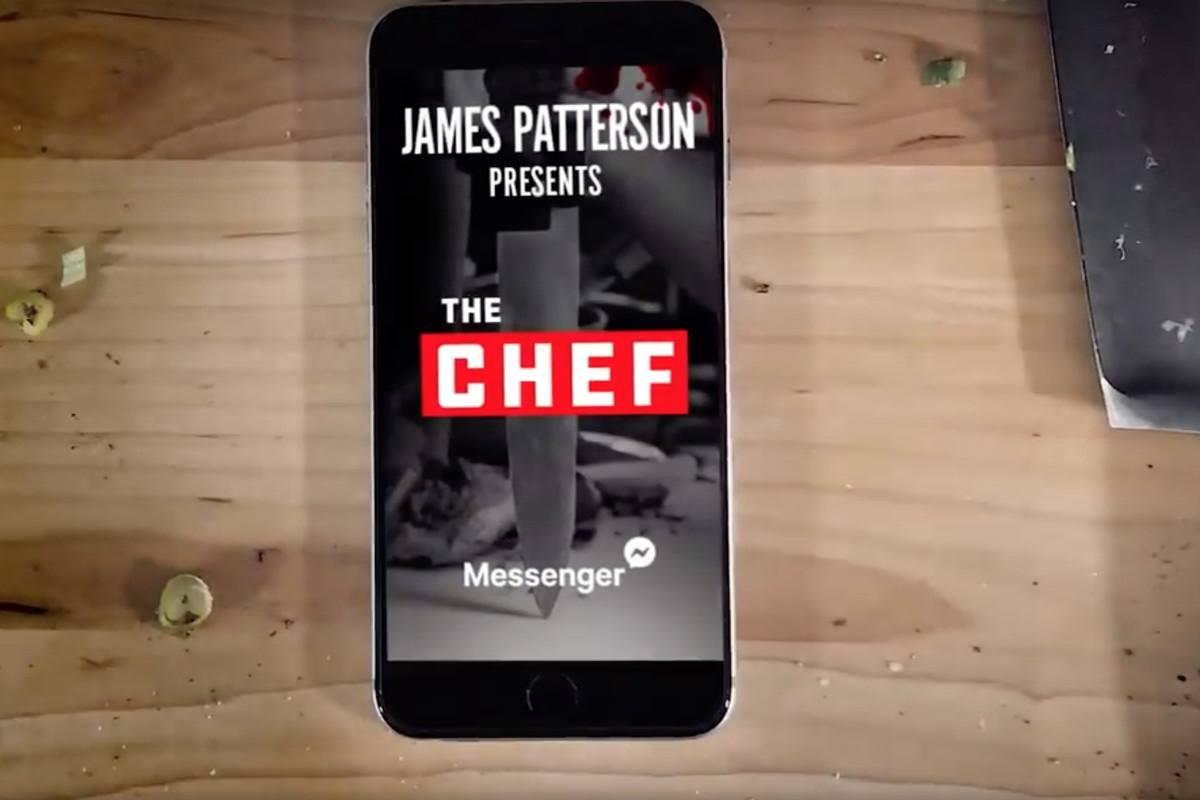 James Patterson yeni romanını Facebook Messenger'da yayınlayacak