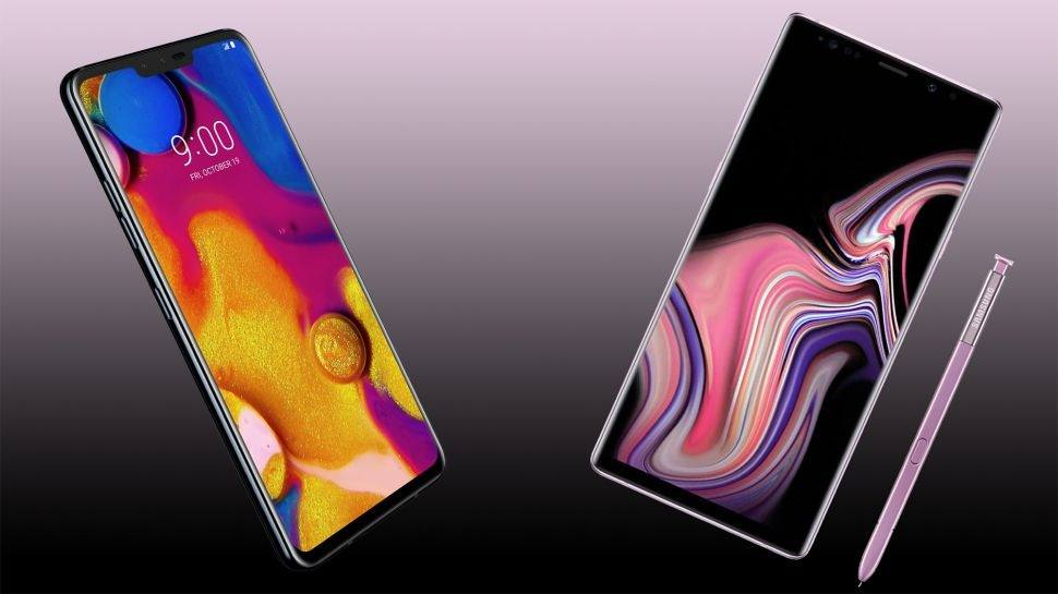 LG V40 ThinQ ve Samsung Galaxy Note 9 karşı karşıya