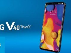 LG V40 ThinQ beş kamerasıyla birlikte tanıtıldı
