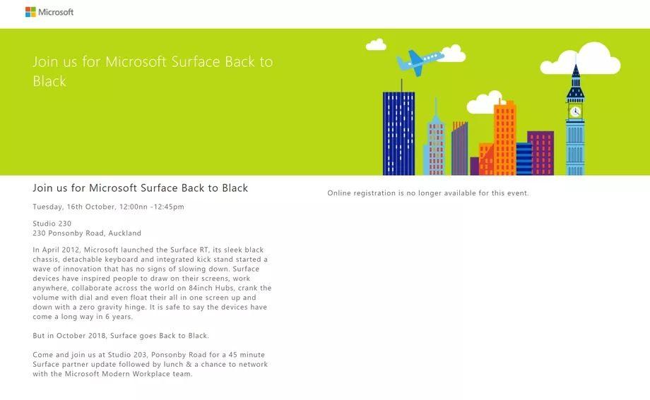 Microsoft siyah renkli Surface modellerini doğruladı