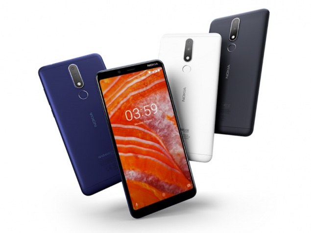 Nokia 3.1 Plus 6 inç büyüklüğünde çentiksiz ekranla geliyor