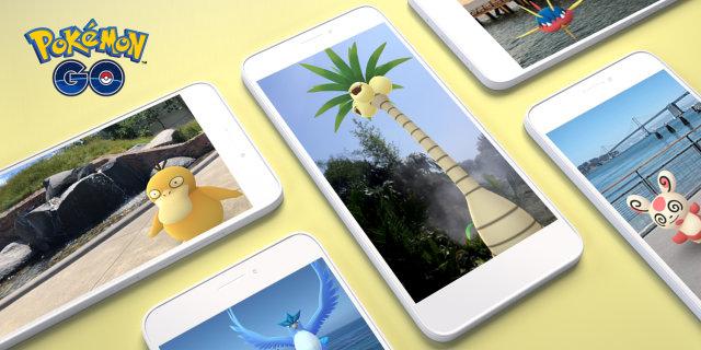 Pokemon Go AR+ moduyla Android'e gerçek boyutlu yaratıklar getiriyor