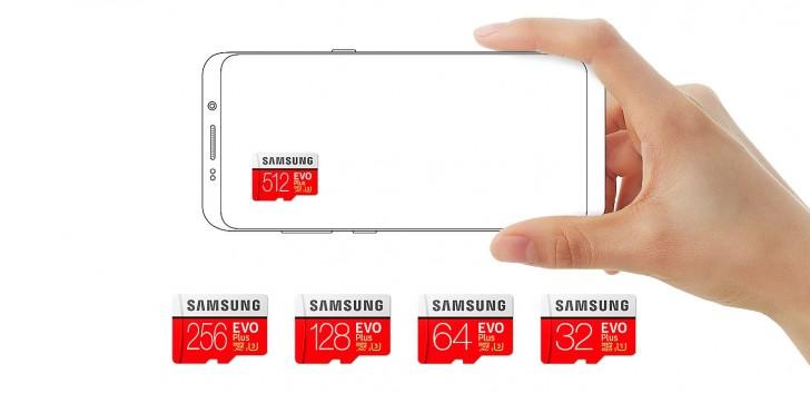 Samsung 512 GB kapasiteli ilk microSD kartının Avrupa fiyatını belirledi