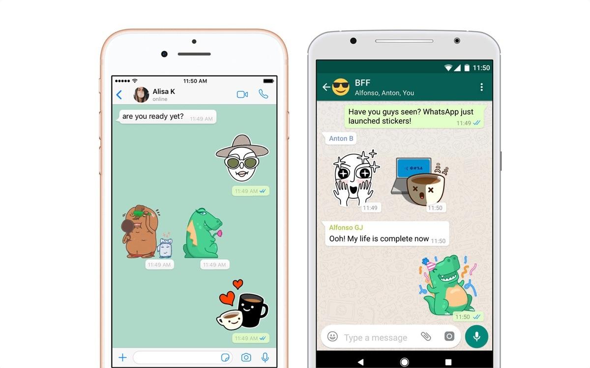 WhatsApp nihayet çıkartma desteği sunmaya başlıyor