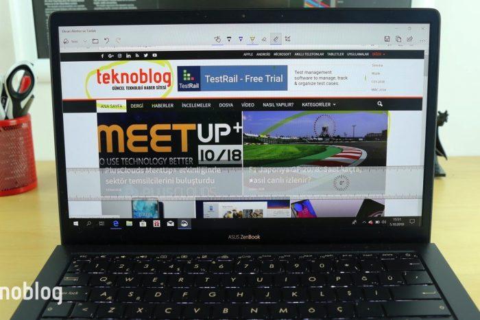 Windows 10'da Ekran Alıntısı ve Taslak nasıl kullanılır?