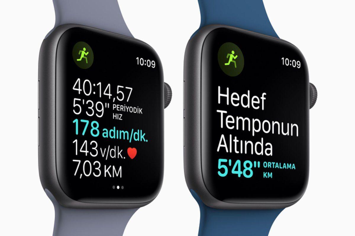apple watch istanbul maratonu