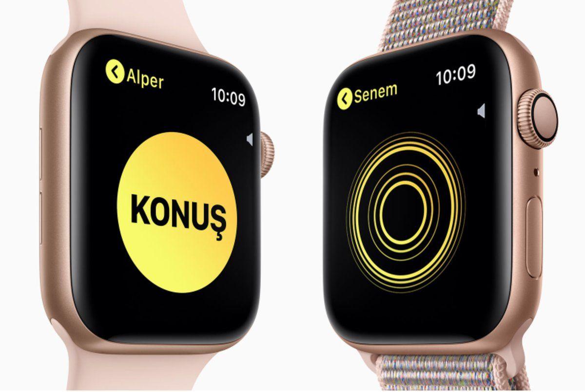 apple watch walkie-talkie