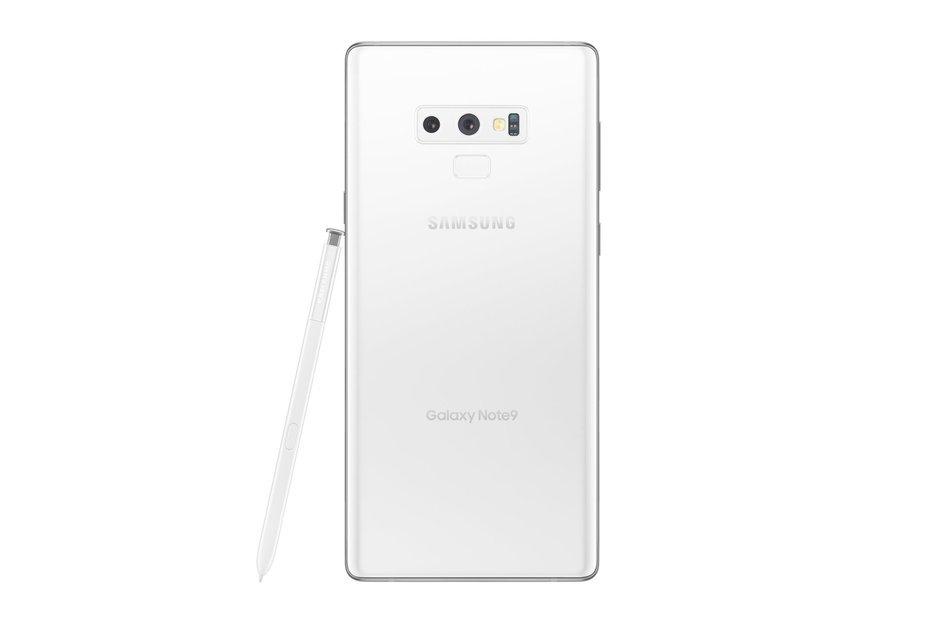 Beyaz Galaxy Note 9 yıl sonu itibarıyla satışa sunulabilir