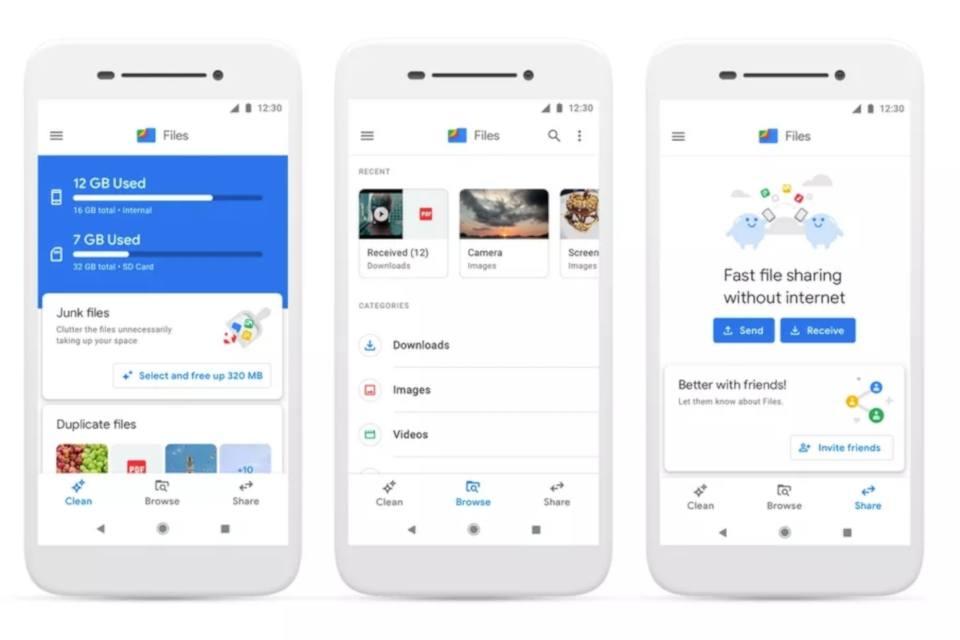 Google Files Go yola Files by Google ismiyle devam edecek