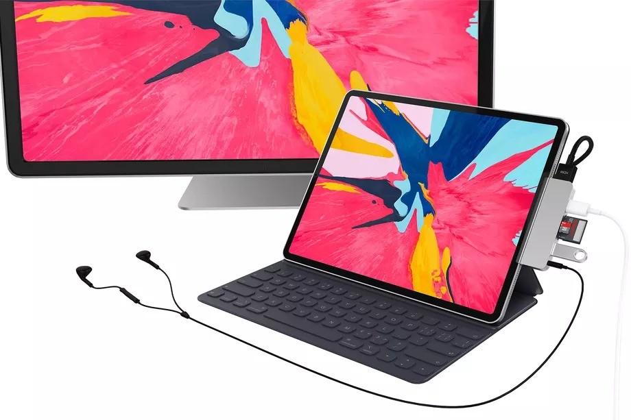HyperDrive'dan iPad Pro'ya özel USB-C hub