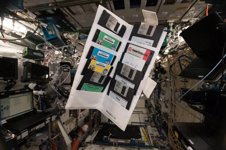 uluslararası uzay istasyonu disket
