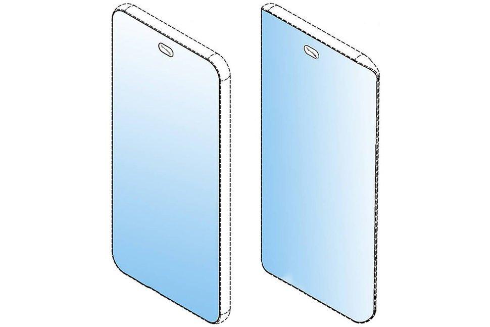 LG ekranı tamamen çerçevesiz bir akıllı telefon üstünde çalışıyor