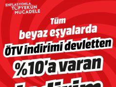 MediaMarkt ÖTV indiriminin üstüne bir indirim daha yapıyor