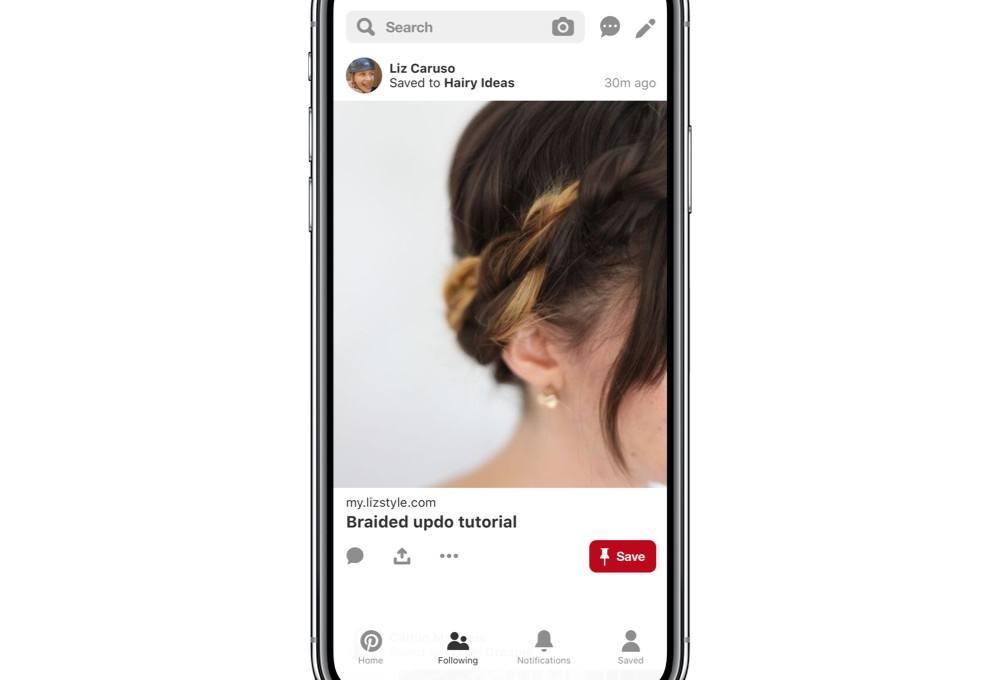Pinterest yeni arkadaş akışı tasarımıyla Instagram'a yaklaşıyor