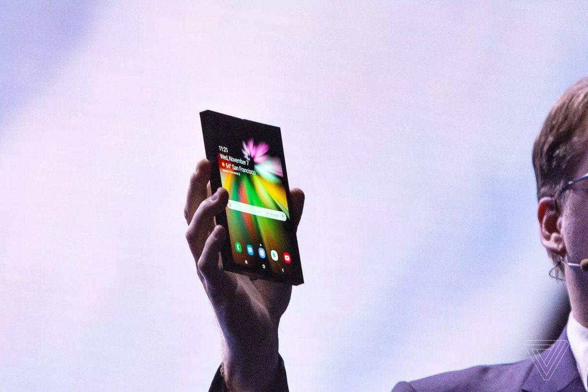 Samsung katlanabilir ekranlı akıllı telefonuyla ilgili detayları paylaştı