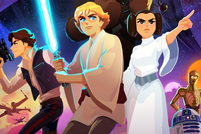 Star Wars serisinin ilk altı filmi çocuklar için animasyona dönüştürüldü