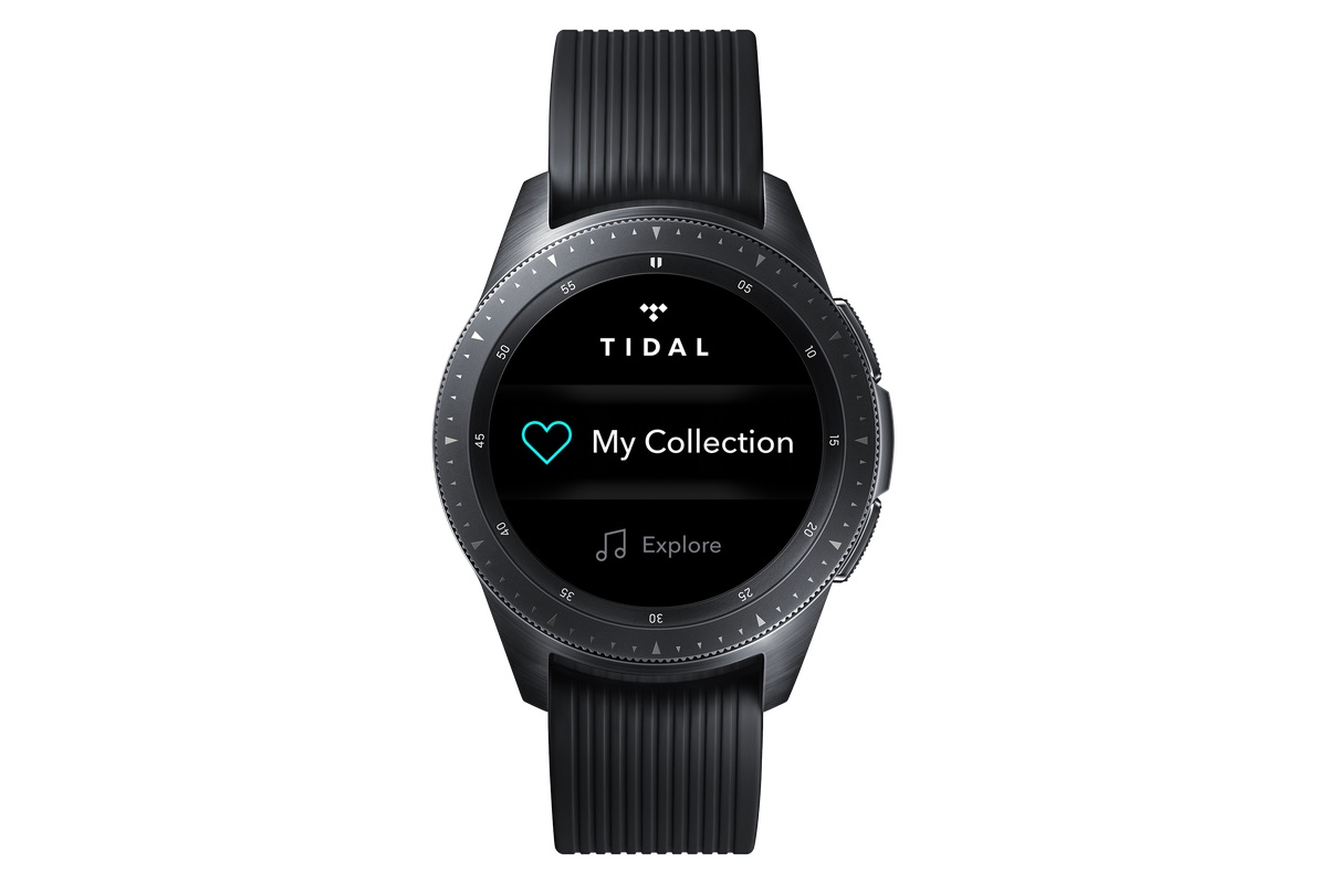 Tidal Samsung markalı giyilebilir ürünler için uygulama hazırladı