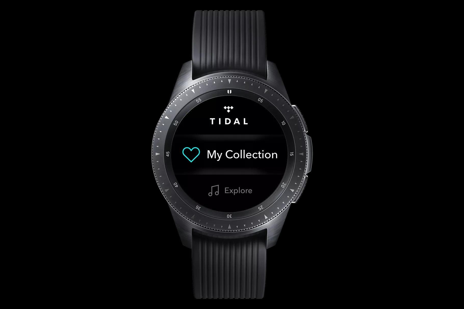 Samsung giyilebilir cihazlarına özel Tidal uygulaması çıktı