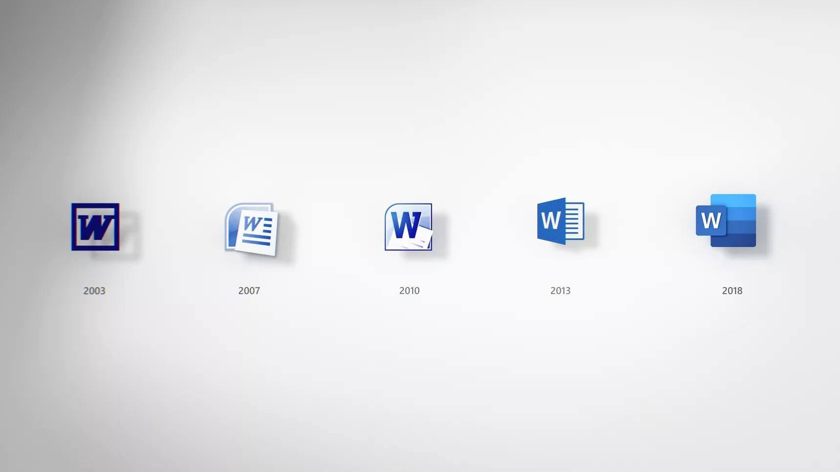 microsoft office word yeni ikonlar