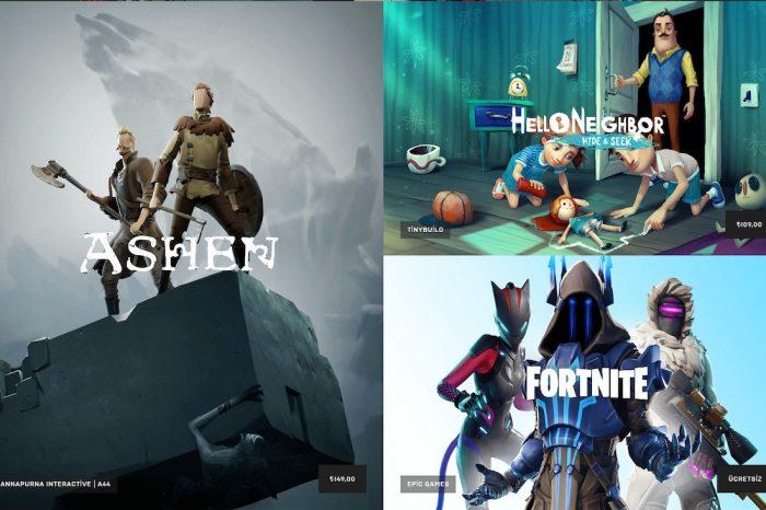 Epic Games dijital oyun mağazasını faaliyete geçirdi