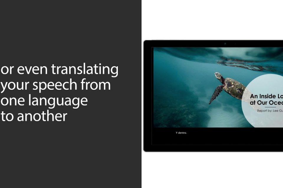 Microsoft PowerPoint'e gerçek zamanlı altyazı özelliği ekliyor