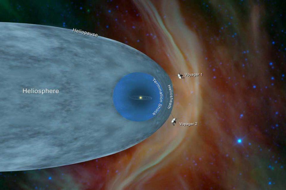 Voyager 2 41 yılın sonunda yıldızlararası bölgeye ulaştı