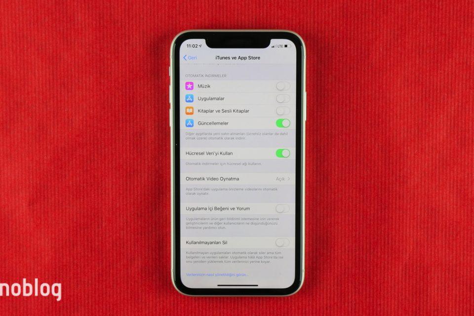 iOS'te uygulama içi beğeni ve yorumları kapatma nasıl yapılır?