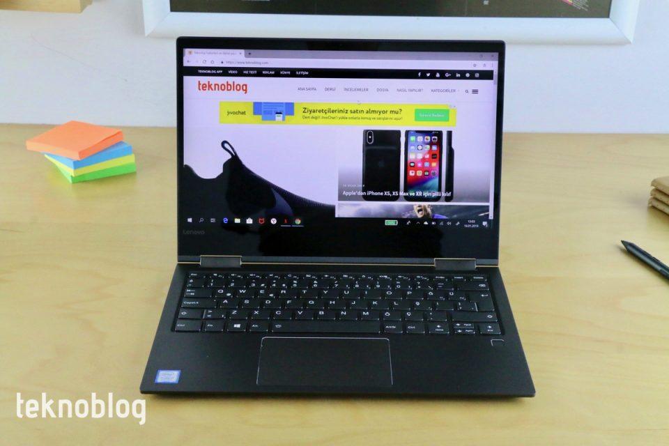 Lenovo Yoga 730 İncelemesi
