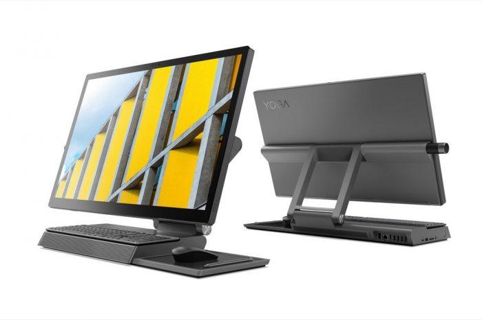 Lenovo Yoga A940 ile Surface Studio'nun karşısına alternatif çıkarıyor