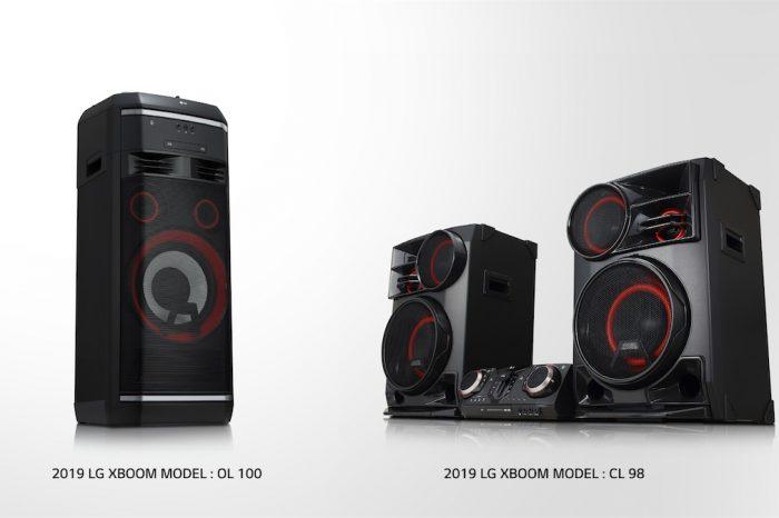 LG XBOOM hoparlör serisini yeni üyelerle genişletiyor