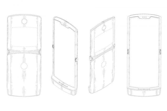 Katlanabilir ekranlı yeni Motorola RAZR buna benzeyecek