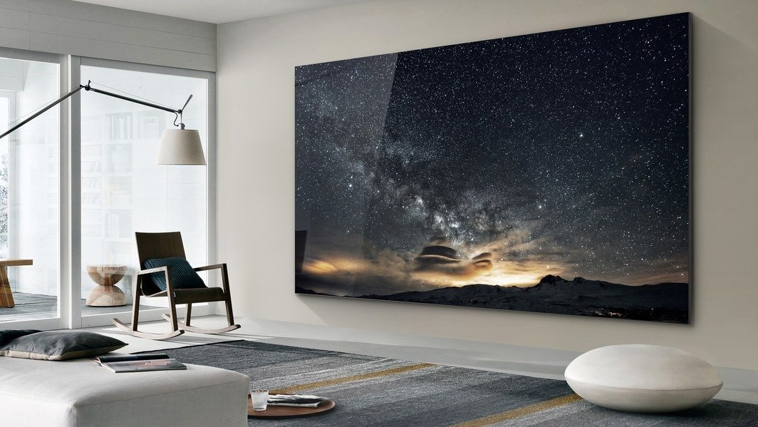 samsung 75 inç microled tv