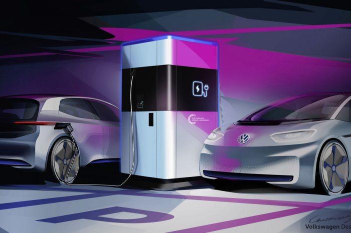 Volkswagen elektrikli otomobil şarjı için mobil istasyon geliştirdi