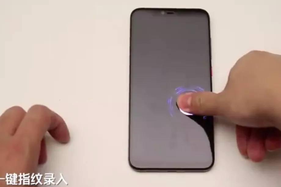 Xiaomi daha büyük boyutlu ekran içi parmak izi sensörünü gösterdi