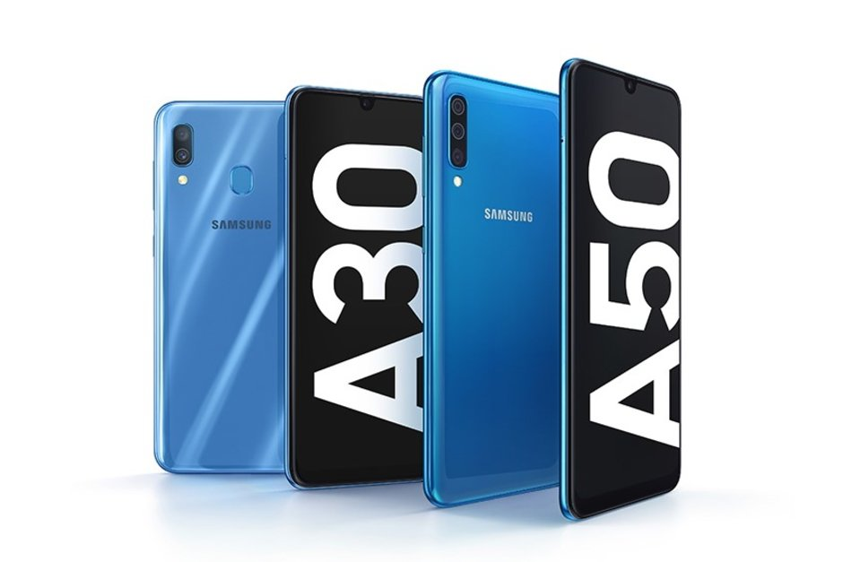 samsung galaxy a50 ve a30