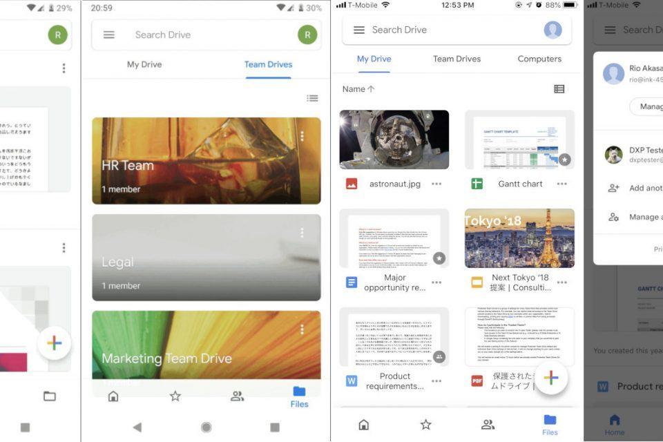 google drive mobil
