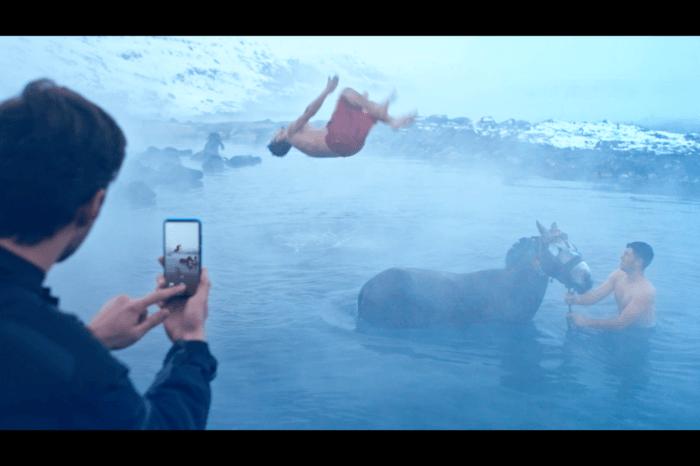 huawei p smart 2019 reklam filmi kamera arkası