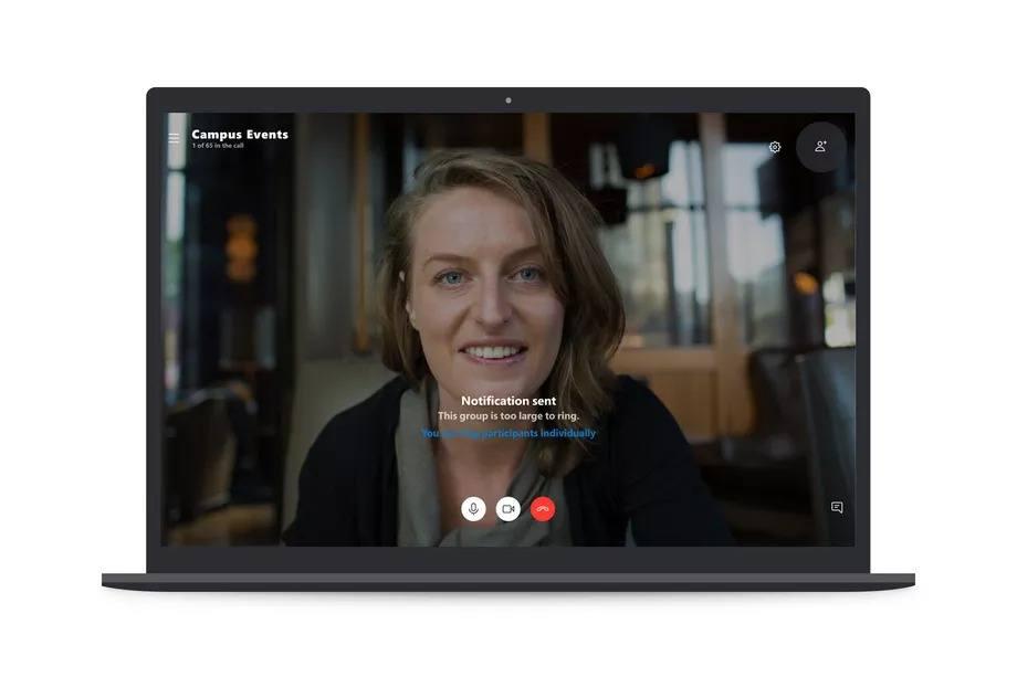 skype grup video